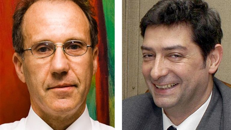 Carlos Rosenkranz y Horacio Rosatti, los jueces que designó Macri para completar la Corte Suprema