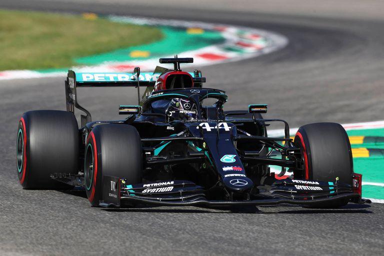 El piloto de Mercedes Lewis Hamilton logró la vuelta más rápida de la Fórmula 1.