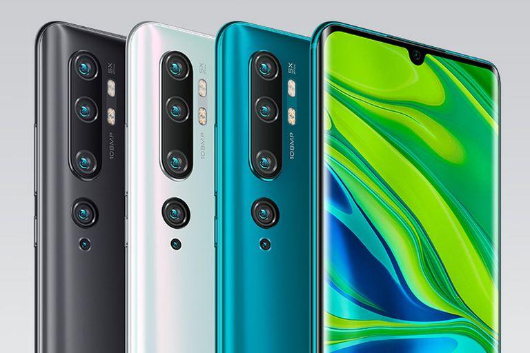 Además de los cinco sensores ubicados en la parte posterior, el CC9 Pro de Xiaomi cuenta con una cámara frontal de 32 megapixeles y una pantalla de 6,47 pulgadas