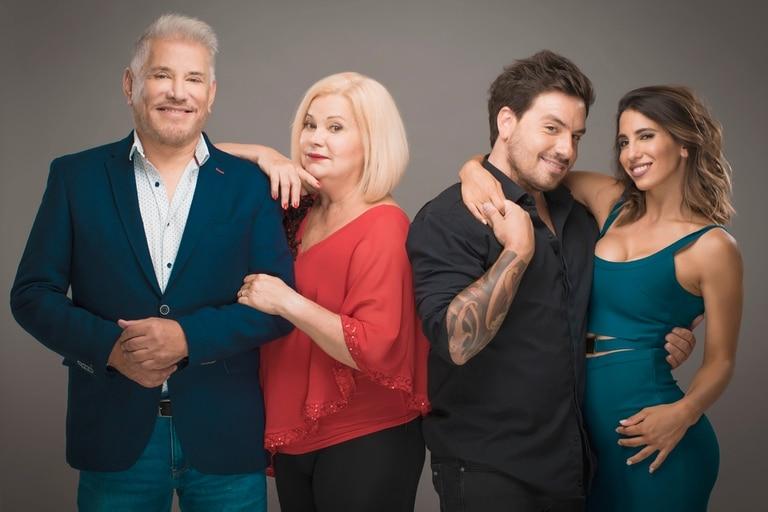 Mentiras inteligentes, con Arnaldo André, Marta González, Fede Bal y Cinthia Fernández