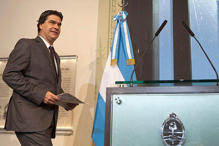Jorge Capitanich evitó opinar sobre un eventual pedido de licencia del vicepresidente Amado Boudou