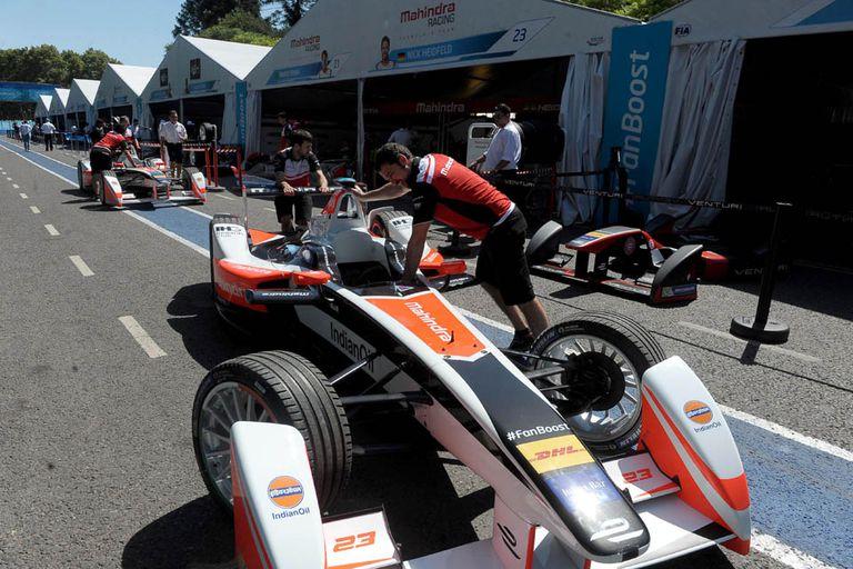 La preparación de la Fórmula E en Buenos Aires
