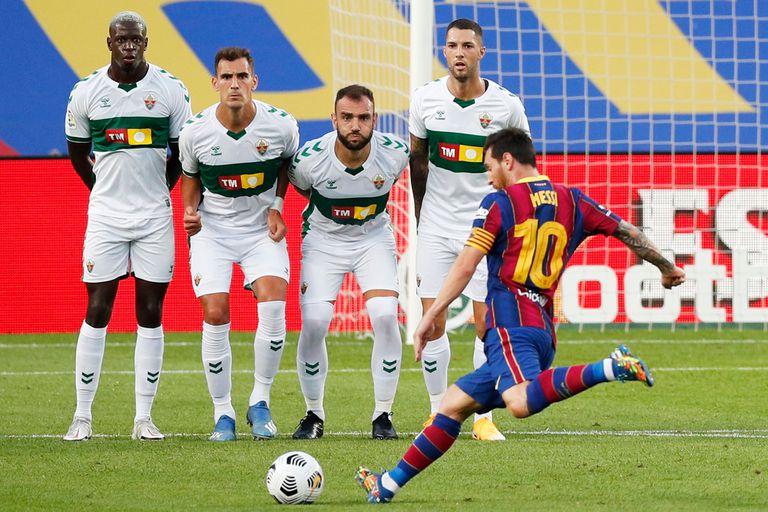 Messi volvió al Camp Nou y Bartomeu habló por primera vez del conflicto