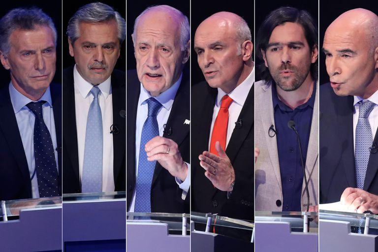Cómo serán los últimos días de campaña de los seis candidatos presidenciales
