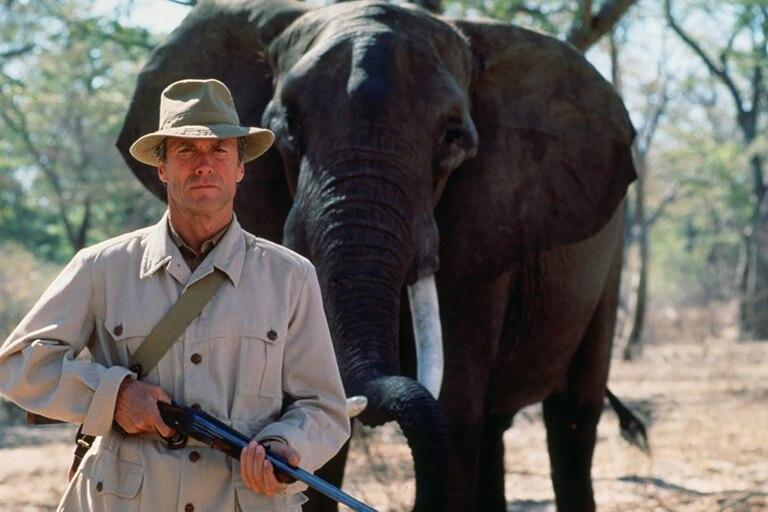 Clint Eastwood en la piel de John Huston