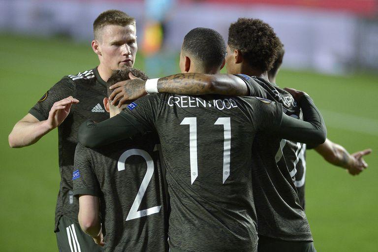 Manchester United festejó en Granada, con un triunfo que lo deja muy bien parado para la revancha.