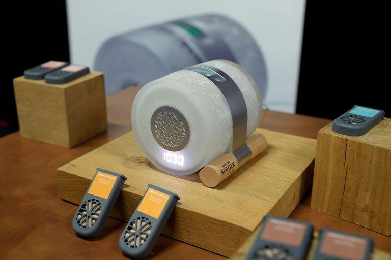 El difusor y reloj despertador de Maison Berger presentado en la CES 2020