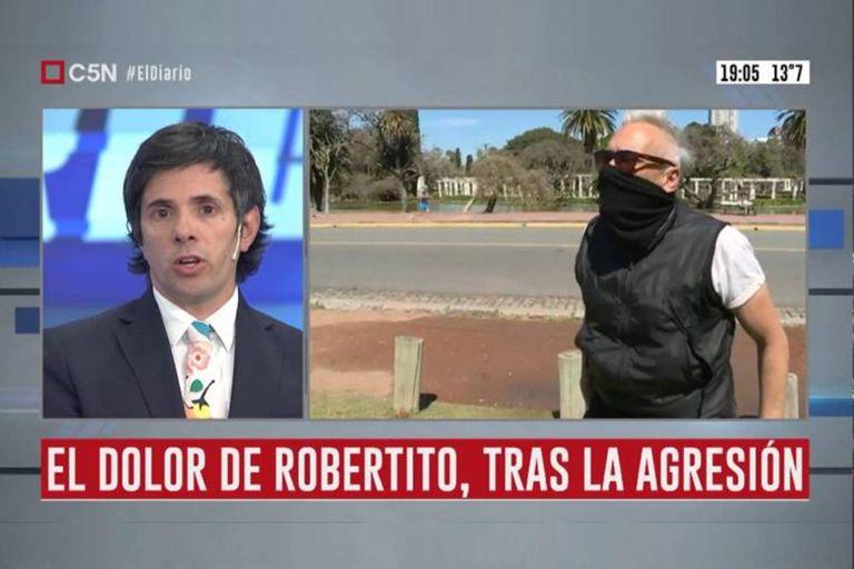 Tras agredir a Robertito Funes en vivo, Diego Bussolini publicó un video en el que se disculpó con el periodista. Además, anunció que se retira del país