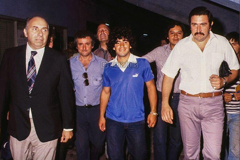 Maradona y Boca A 40 años de su primer día: un largo rezo y ranas para celebrar
