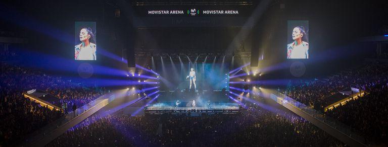 Los 5 mejores momentos de Tini Stoessel en la inauguración del Movistar Arena