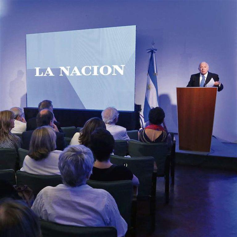 """Norberto Frigerio (director de Relaciones Institucionales) destacó que este libro fue """"un sueño"""""""