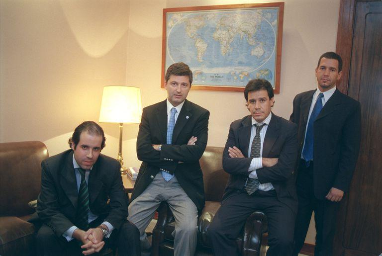 El intento olvidado de Manes de crear un partido y su pedido a EE.UU. contra Duhalde