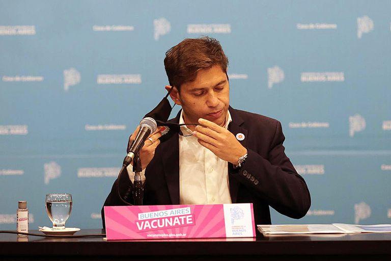 De forma directa, el gobernador Kicillof apuntó contra el jefe de Gobierno porteño Horacio Rodríguez Larreta por las criticas que hizo a las medidas del Presidente