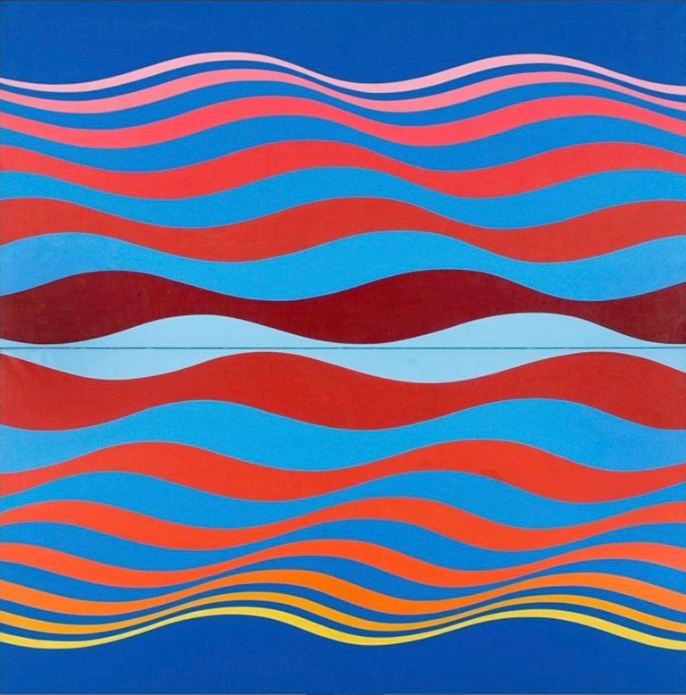 """La pintura """"Interdimensión"""", de María Martorell"""