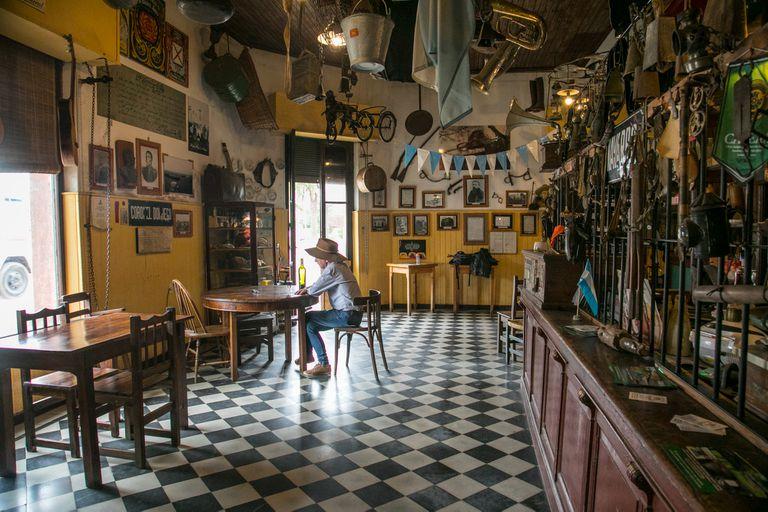 Un almacén para viajar en el tiempo en Navarro
