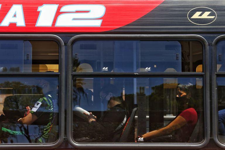 Uso del transporte público en la ciudad de Buenos Aires, el 5 de noviembre de 2020