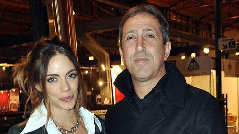 Turco Naim y Emilia Attias