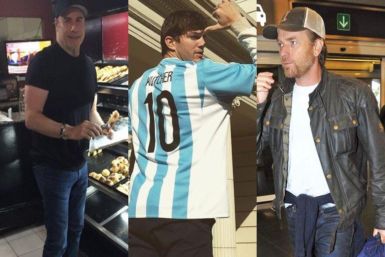 De Scarlett y Travolta a DiCaprio y Portman: cómo fueron las visitas de los famosos a la Argentina