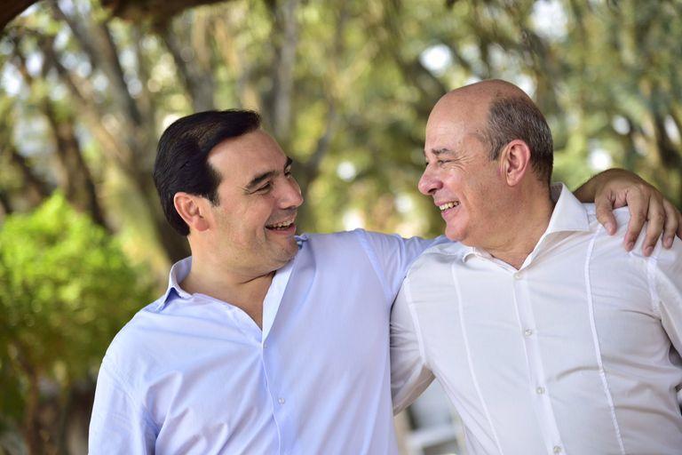Gustavo Valdés y Gustavo Cantero