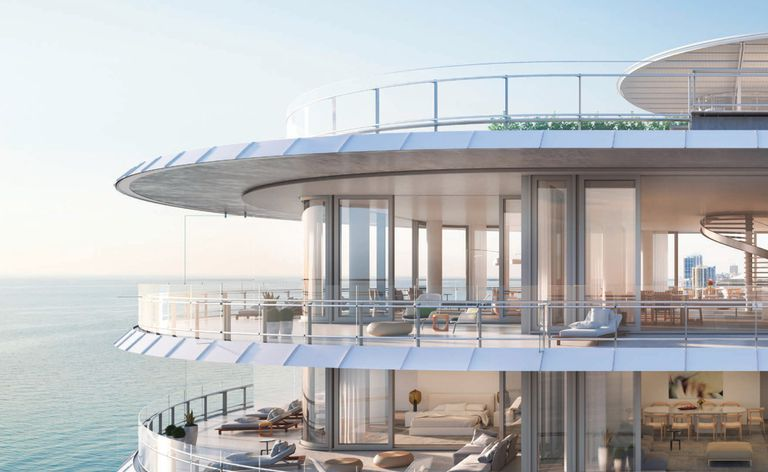 El condominio de lujo en el que Djokovic tenia su propiedad es Eighty Seven Park, de 18 pisos