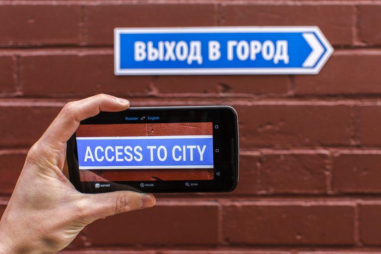 Google Translate se actualizó con las funciones de Word Lens, una aplicación adquirida por la compañía estadounidense que permite traducir mediante la cámara del smartphone
