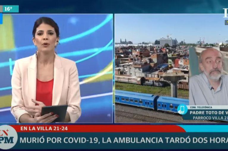 Villa 21-24. Murió por Covid-19 y denuncian que la ambulancia tardó 2 horas