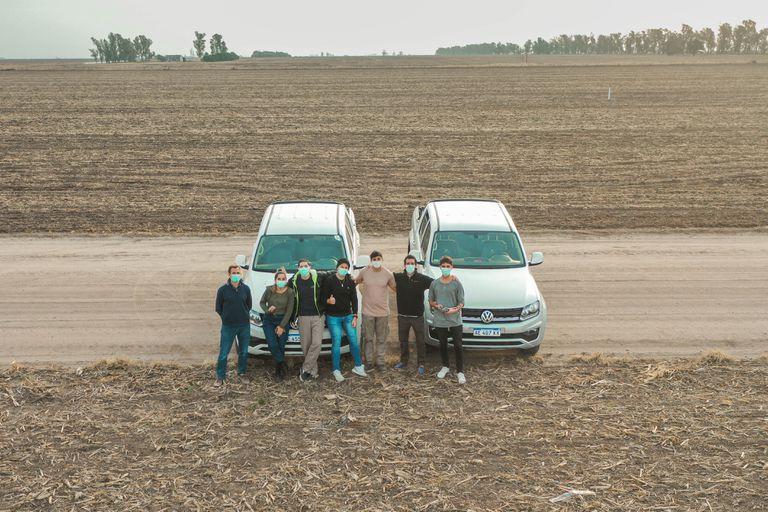 Vistaguay controla la evolución de los cultivos e instalaciones, con precisión y en tiempo real