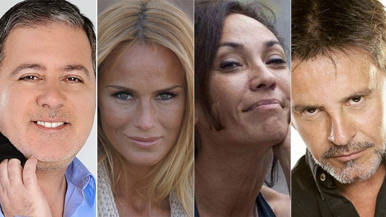 Fabián Doman, Sabrina Rojas, Ernestina Pais y Osvaldo Laport ya se preparan para debutar en la pista
