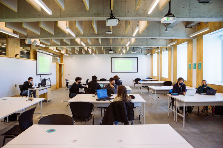 Presencialidad con distanciamiento en la Universidad Di Tella