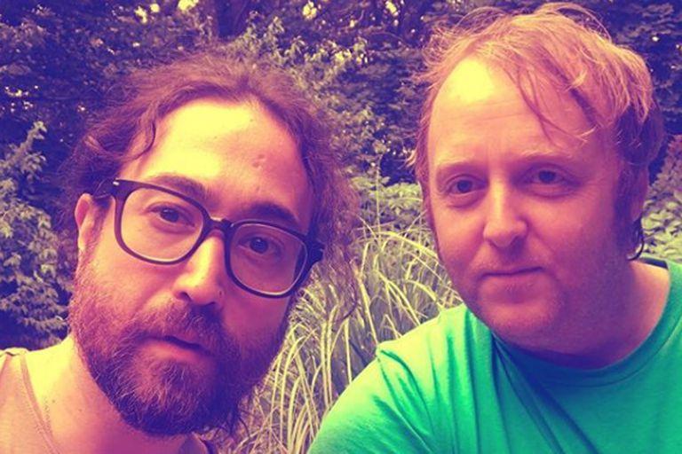 Los hijos de John Lennon y Paul McCartney, en una foto viral