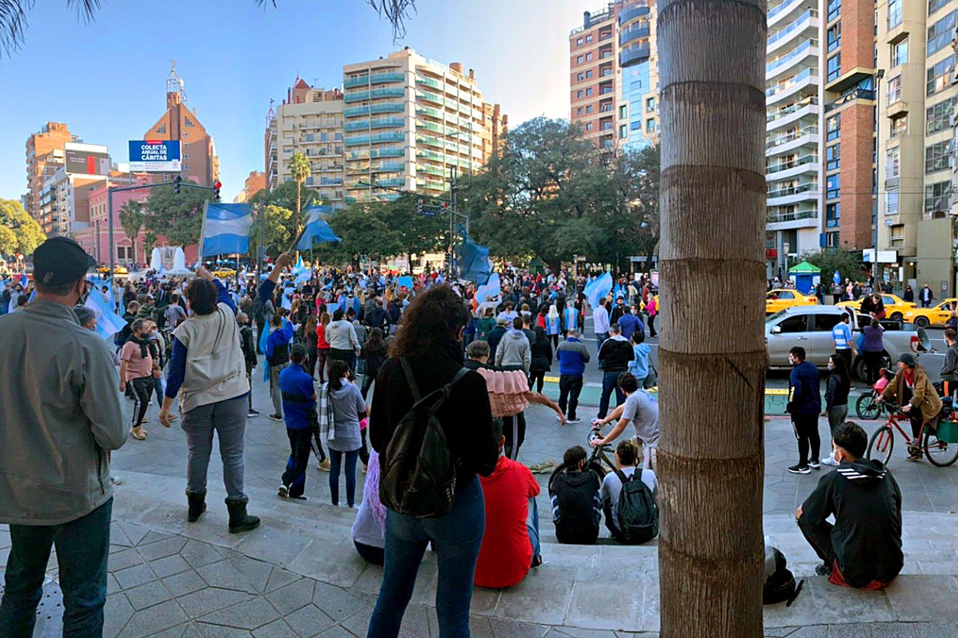 Marcha en Córdoba por las nuevas restricciones