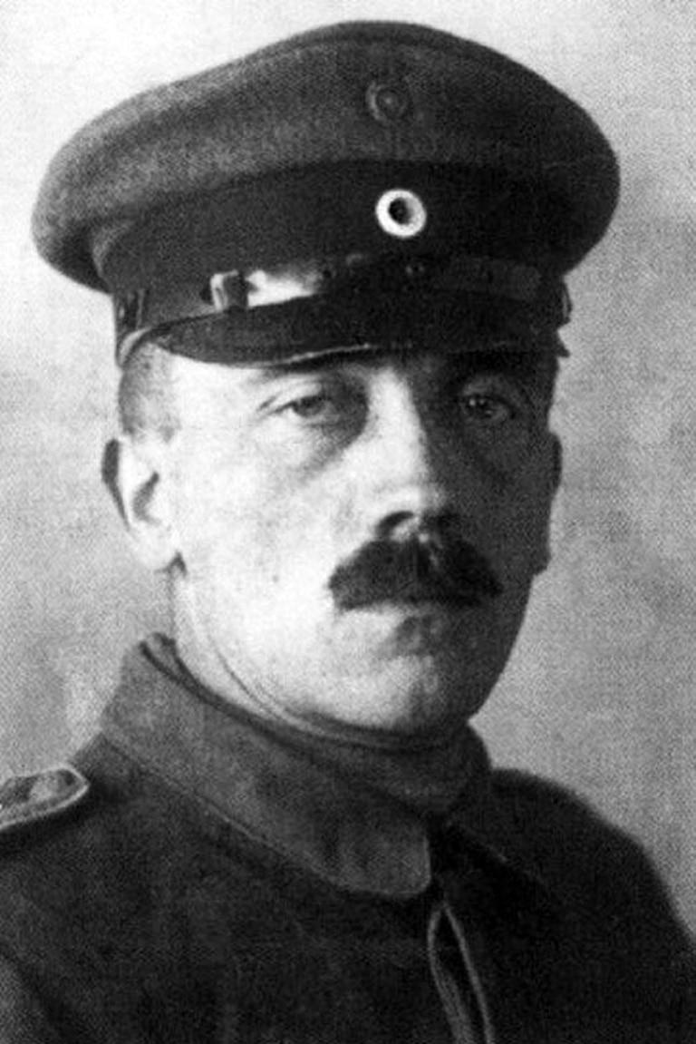 Hitler en 1921, poco después de la Primera Guerra Mundial