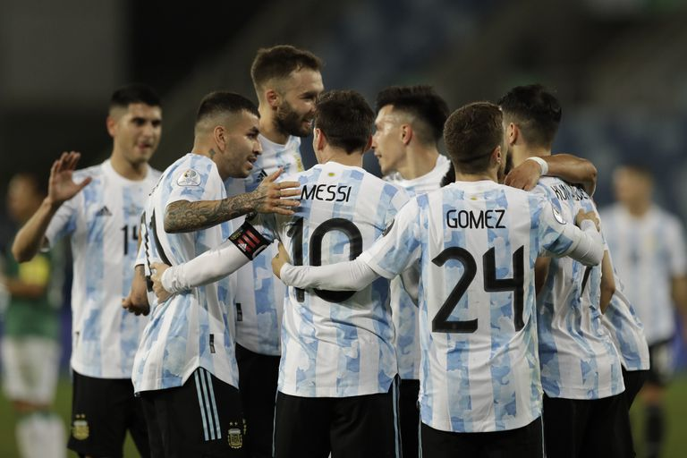 La transmisión del encuentro disputado por la Selección Nacional le dio buena audiencia a la TV Pública (AP Foto/Bruna Prado)