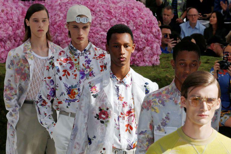 Flower power masculino, la propuesta de Dior