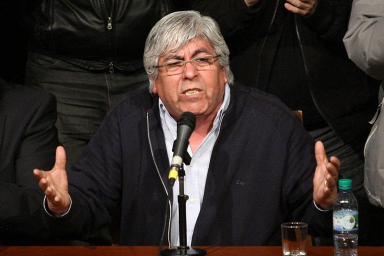 Hugo Moyano será el encargado de cerrar la protesta de hoy