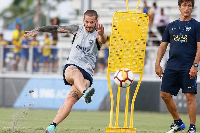Benedetto usará el Nº 18 en la Libertadores