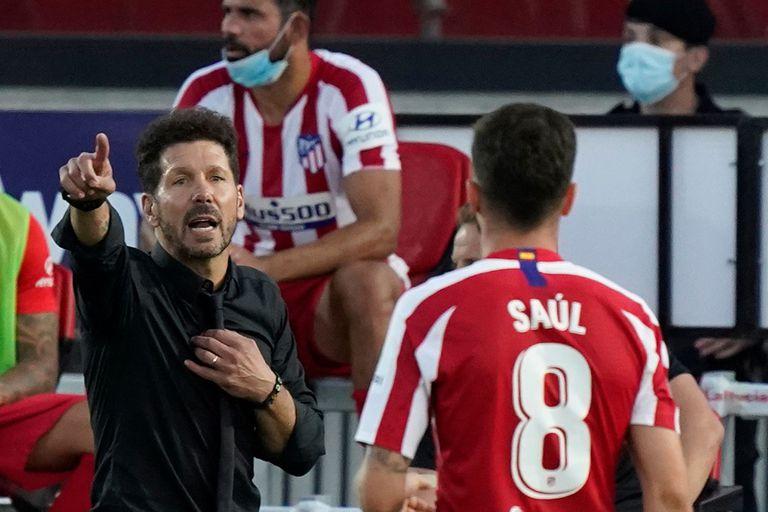 Diego Simeone, otra vez en cuartos de final de la Champions League.