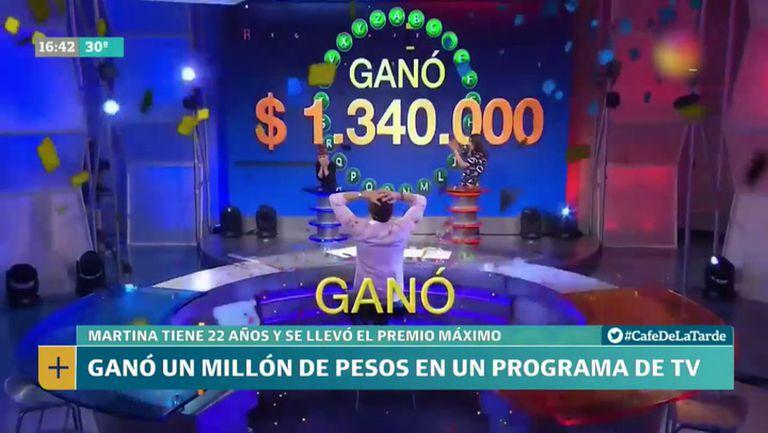 En 2019, Martina Barraza ganó un millón trescientos mil pesos, unos 35.173,16 dólares para ese momento