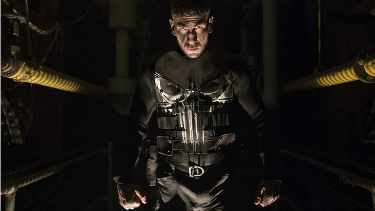 Jon Bernthal enThe Punisher, del universo Marvel, uno de las ofertas más fuertes de noviembre