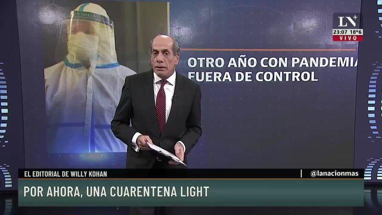 Sin acuerdo, anunciarían una cuarentena light
