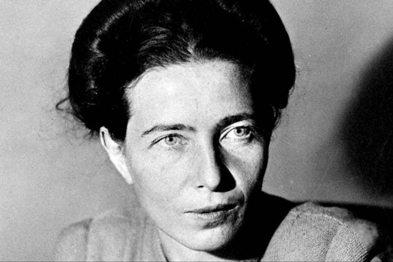 Simone de Beauvoir nació en París y su obra impulsó la igualdad entre el hombre y la mujer