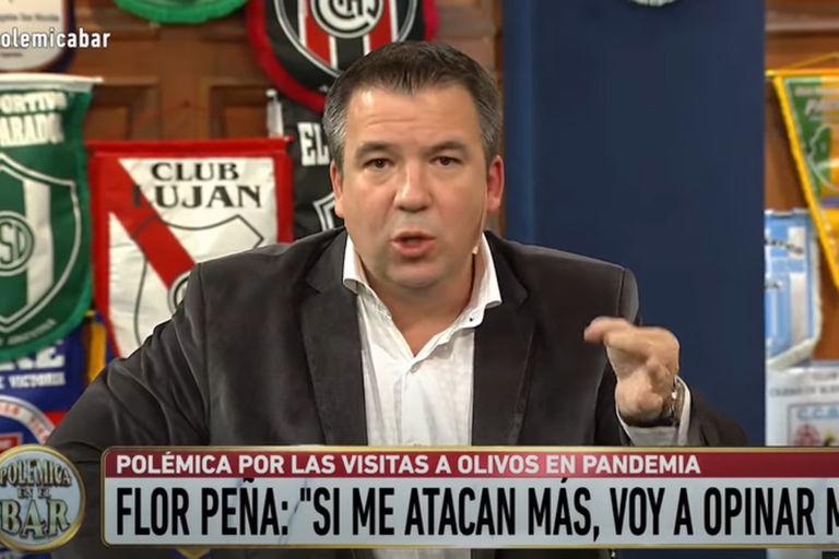 Gastón Recondo cruzó a Alberto Fernández por las visitas a Olivos