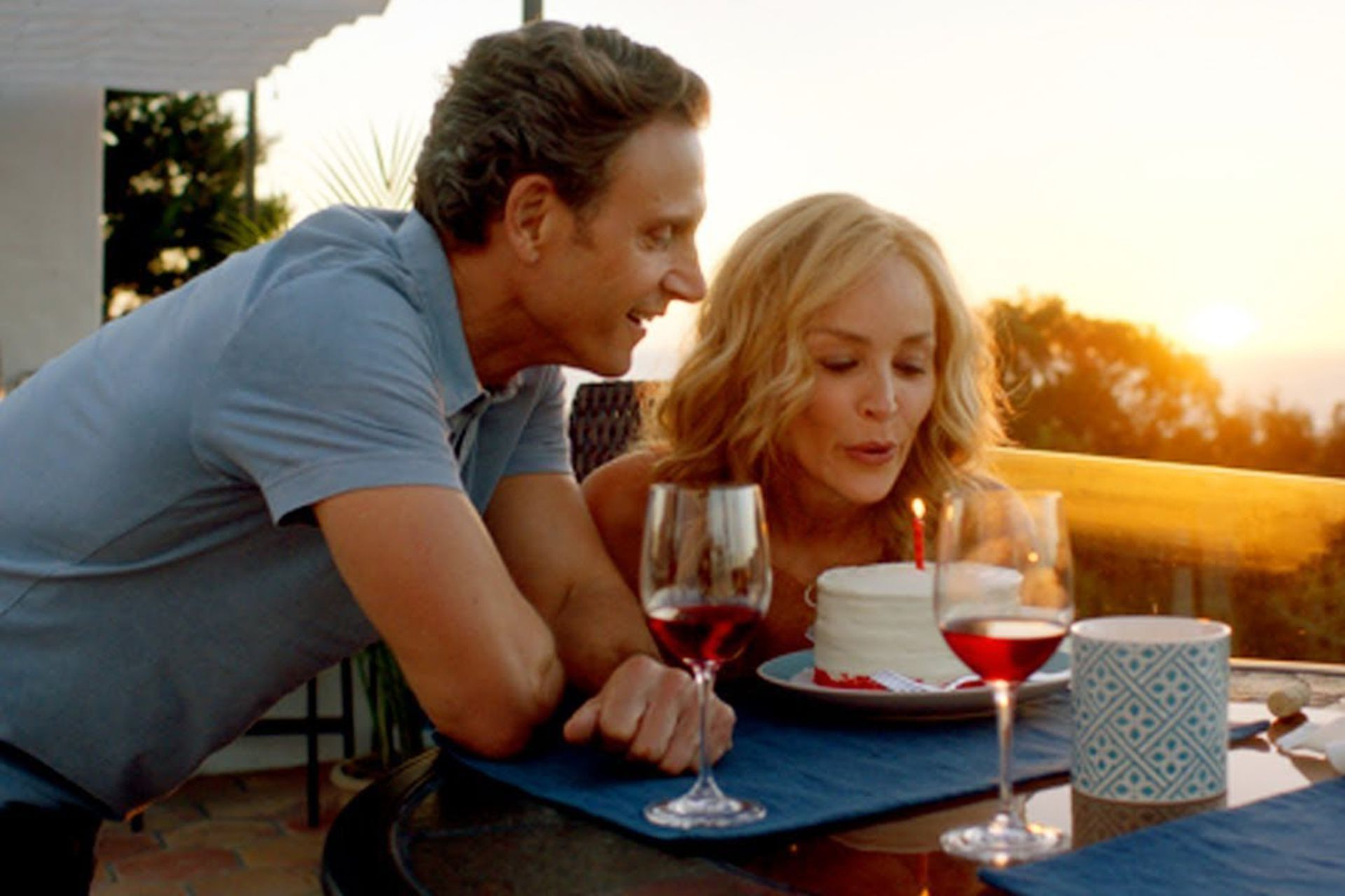 Sharon Stone y Tony Goldwyn