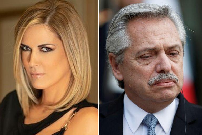 Viviana Canosa criticó los agradecimientos que realizó el presidente Alberto Fernández en cadena nacional