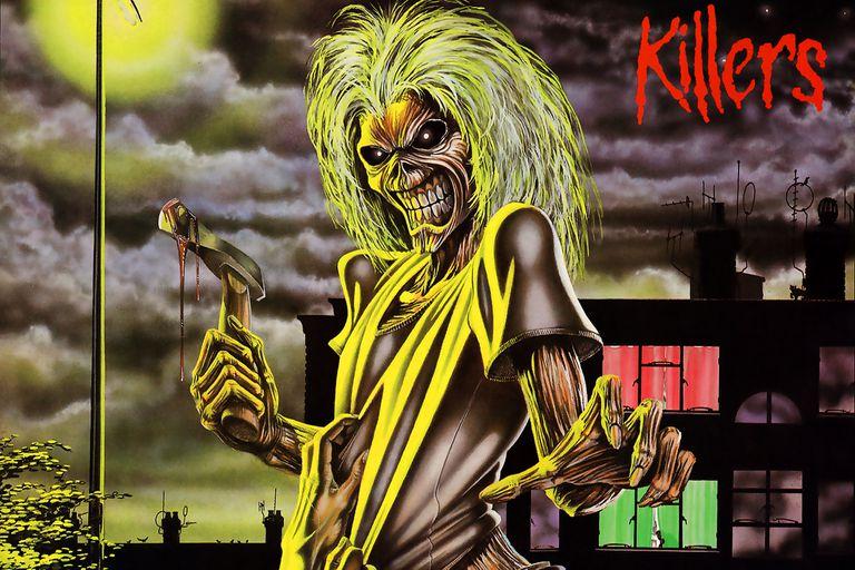 Eddie The Head en la tapa de Killers, de Iron Maiden