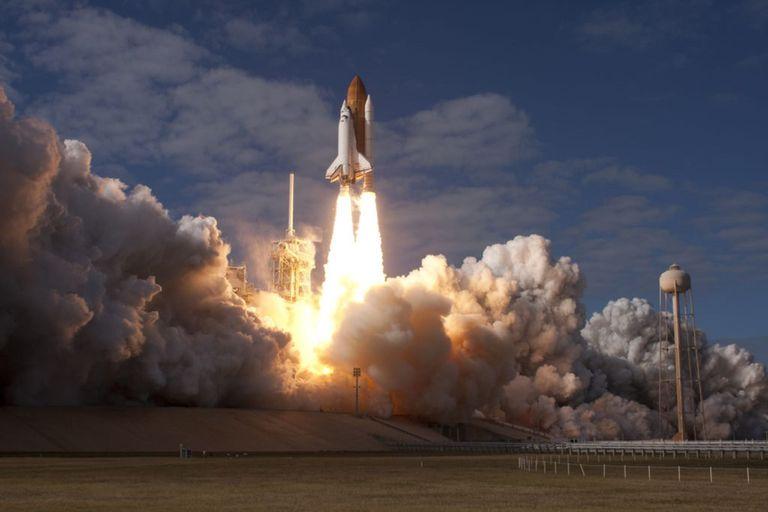 11-06-2021 La misión STS-129 del Transbordador Espacial Atlantis se lanza desde el Centro Espacial Kennedy de la NASA en Florida el 16 de noviembre de 2009. POLITICA INVESTIGACIÓN Y TECNOLOGÍA NASA