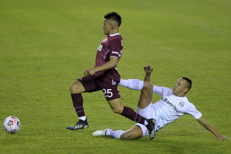 Lanús. Otra vez cayó ante Gremio, ahora en el final y por la Copa Sudamericana