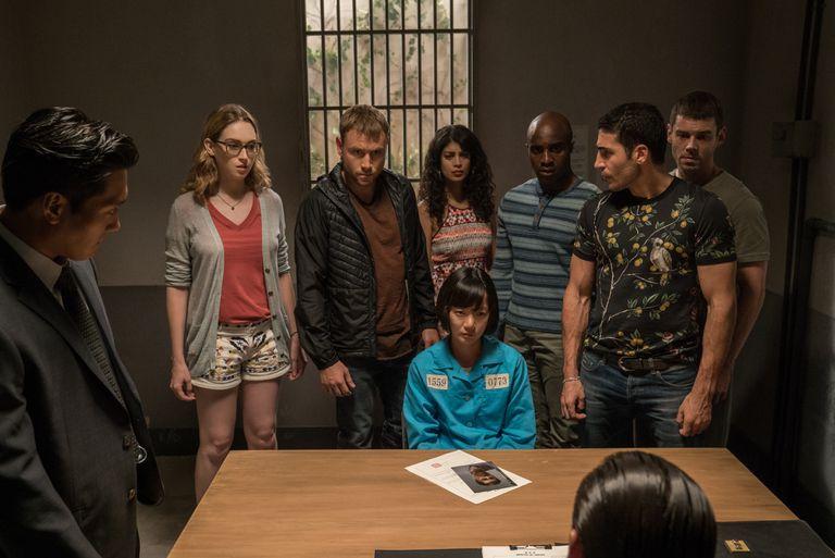 El elenco de Sense8