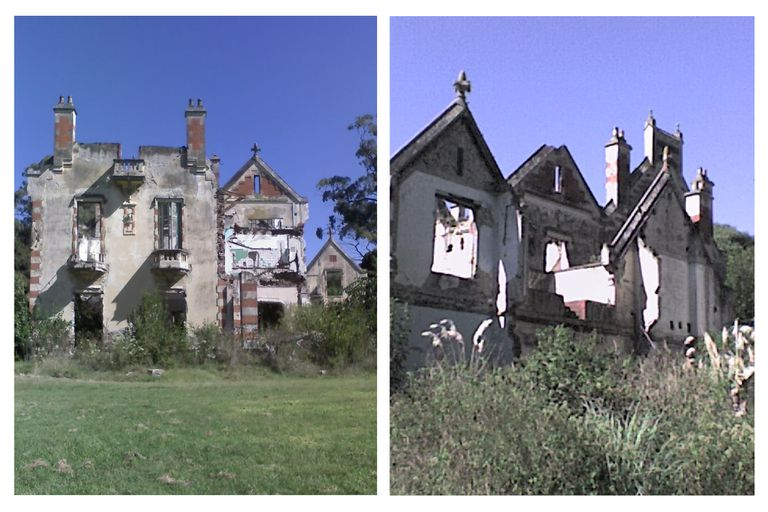 A principios de la década de 2000, un incendio arrasó con la mansión