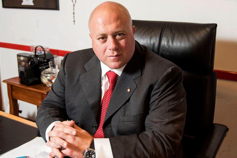 Antonio Caselli, dueño del mayor paquete accionario de Burgos de España